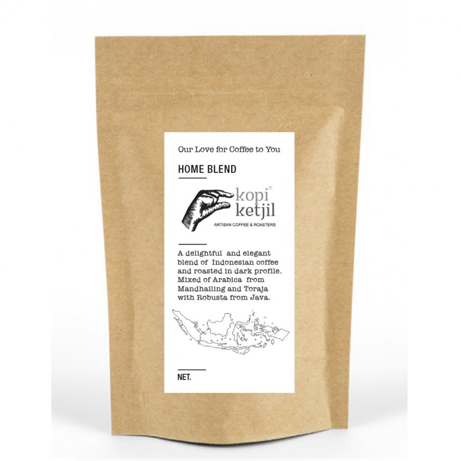Home Blend Ground Coffee Beans