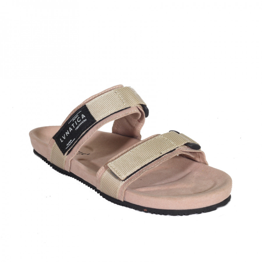 Cyndira Cream   Lvnatica Footwear Sandal Wanita Casual