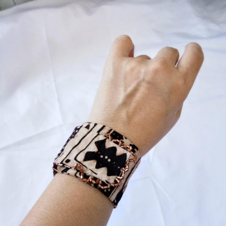 Gelang Tangan Handmade Gelang Batik Wanita Etnik GESYAL