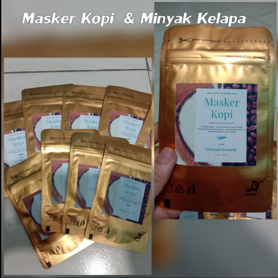 Masker wajah/masker kopi original/masker kopi dengan minyak kelapa