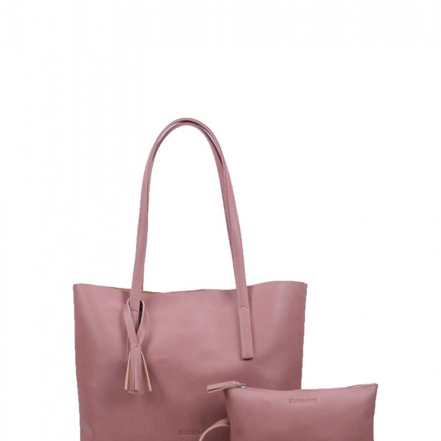 Silver Tote Kayla (available in 6 colors)