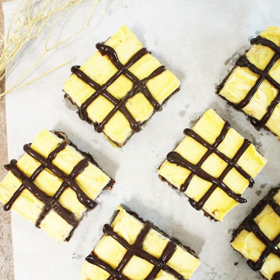 Raw Vegan Orange Brownies