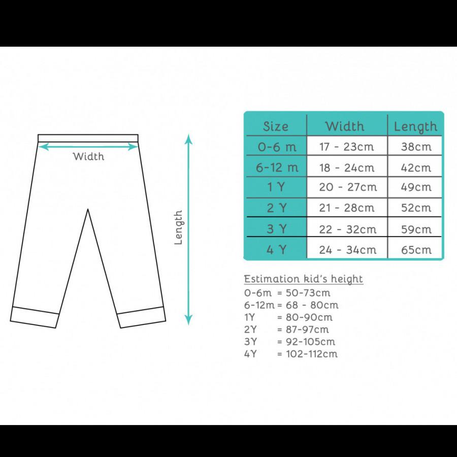 Cottonaries - Organic Cotton Pants