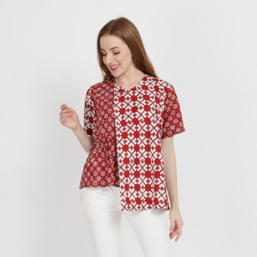 Batik Dirga Rengganis Atasan Wanita / Blouse Batik