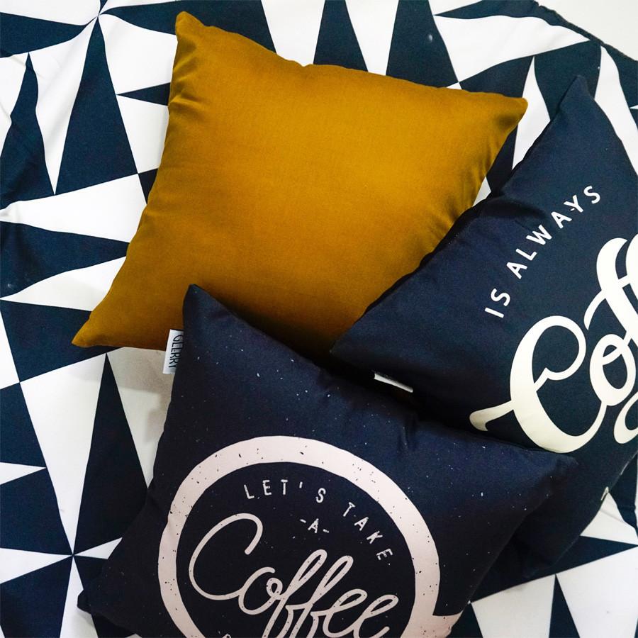 Cappuccino Cushion 40 x 40