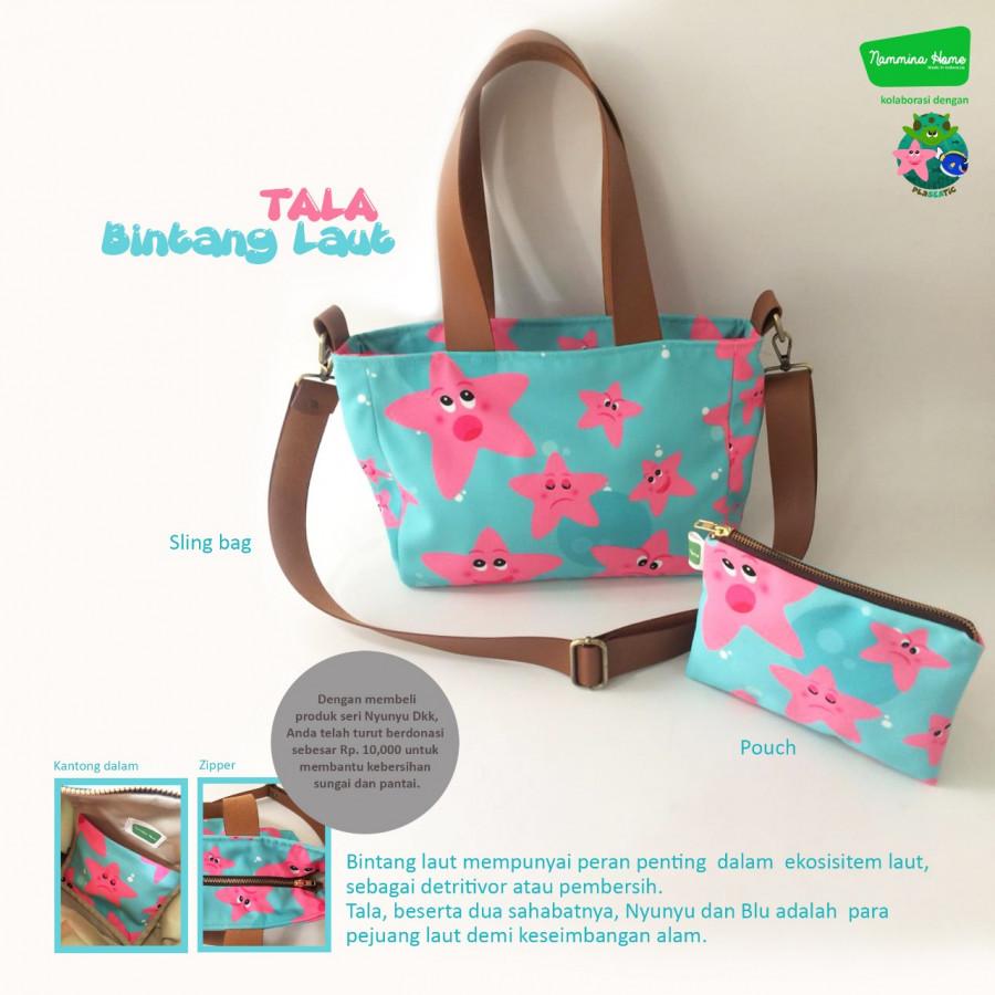 Sling Bag dan Pouch Tala Tosca Nammina Home