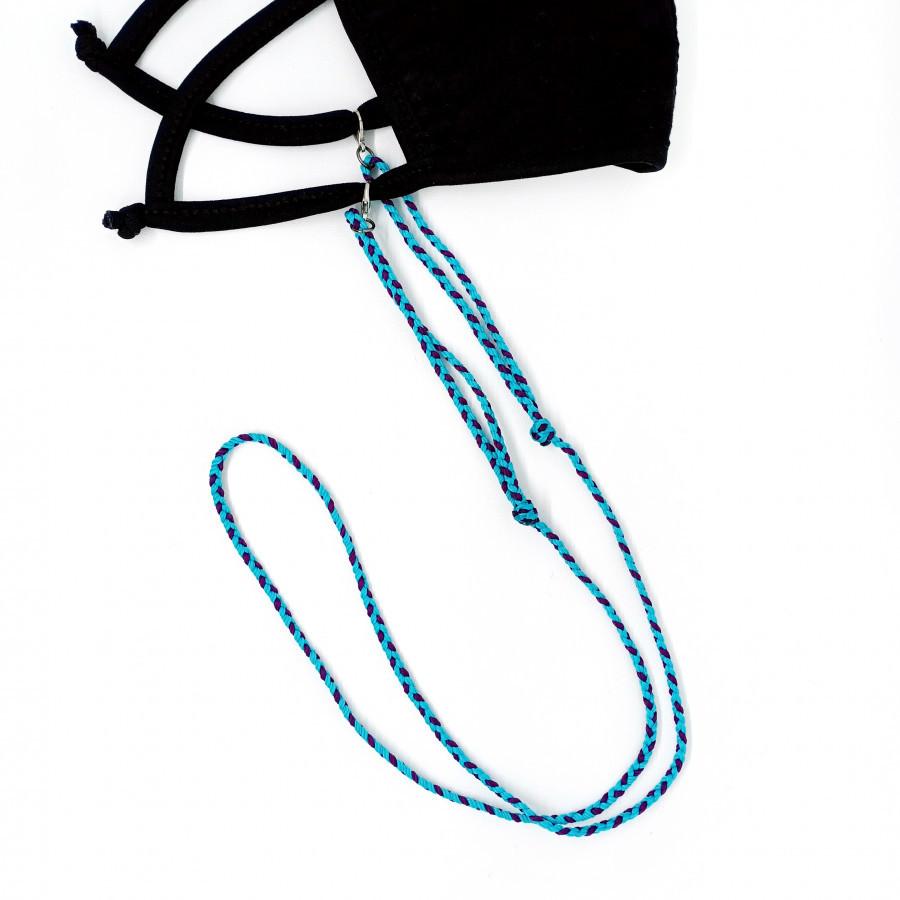 Nagata Lanyard Mask Blue Gypsy Bohemian Korea Ethnic Kikas