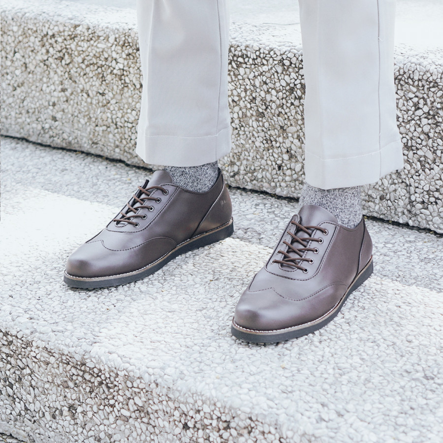 Morley Brown | Zensa Footwear Sepatu Formal Pria Pantofel Shoes