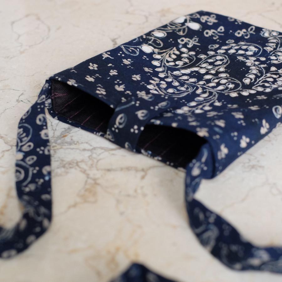 Phone Cover Batik Lasem - Navy