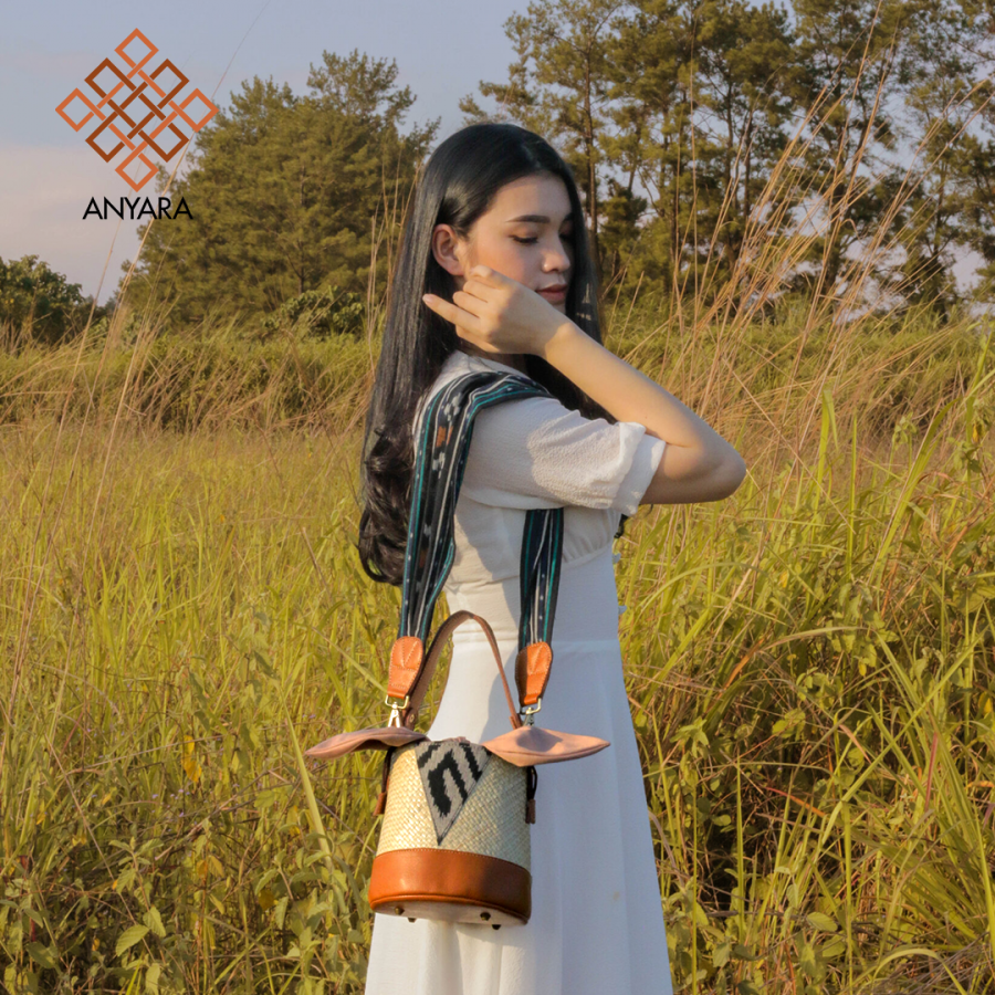 Tas Anyaman Pandan - KALA by Anyara
