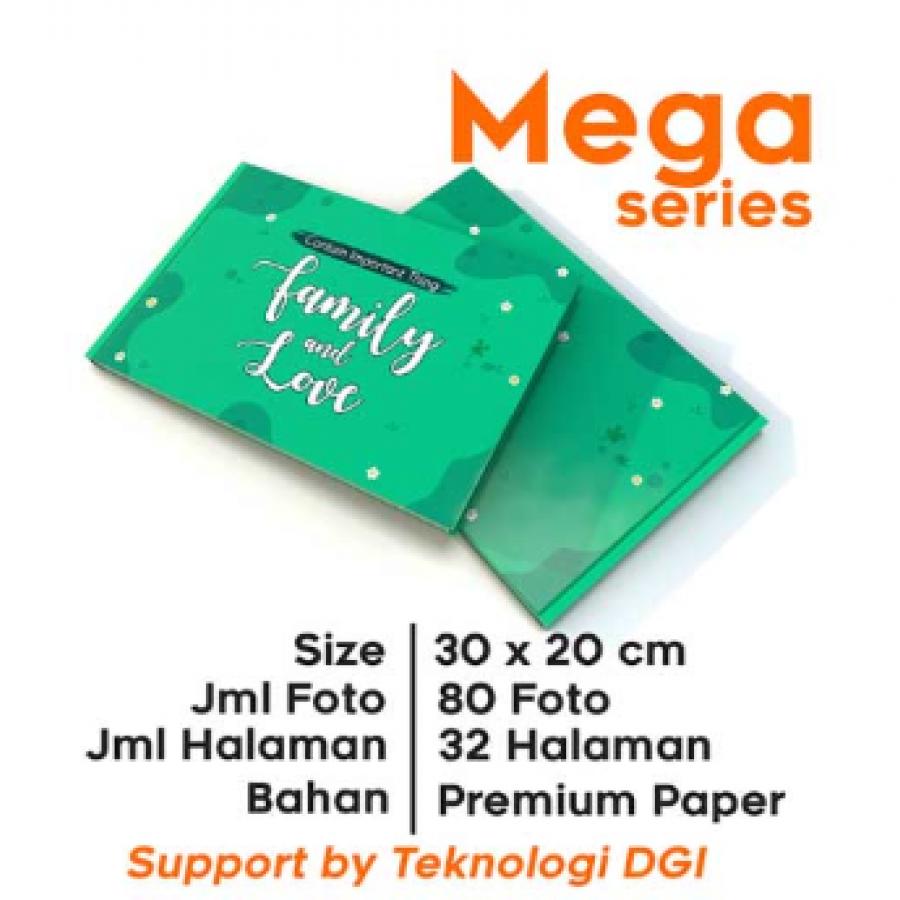 photobook custom MEGA series 30x20cm (softcover)