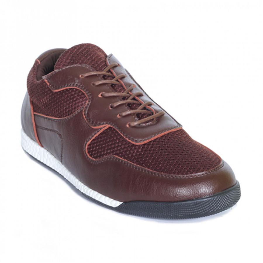 Lvnatica Sepatu Pria Kasual Dagger Brown Sneakers Shoes