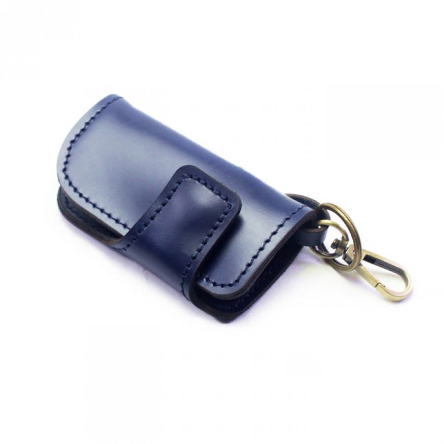 Dompet Stnk Mobil Motor Kulit Asli Warna Biru GARANSI 1 TAHUN-Gantungan Kunci. Gantungan Kunci Kulit-