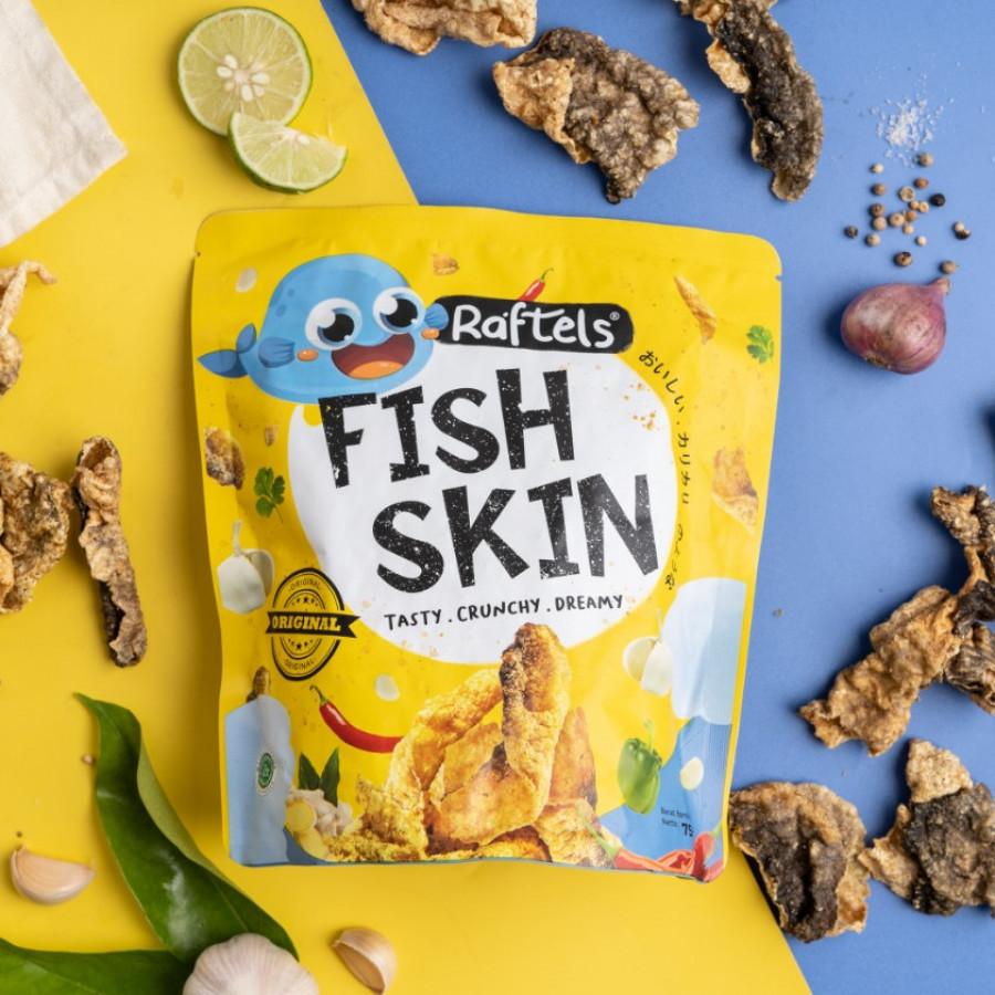 RAFTELS FISH SKIN ORIGINAL - Snack Keripik Kulit Ikan