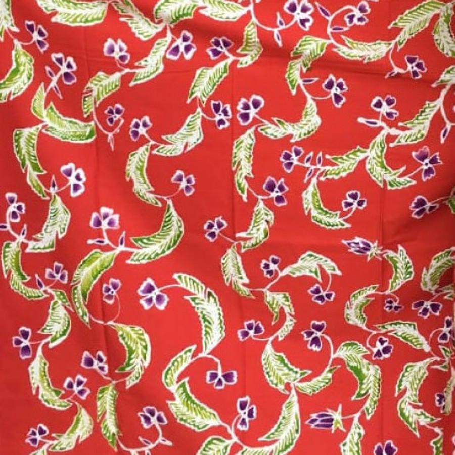 Batik Daun Merah