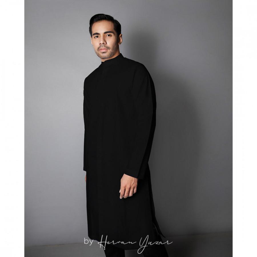 Adley Koko Black Ramadan Collection HRC001.19.BLK