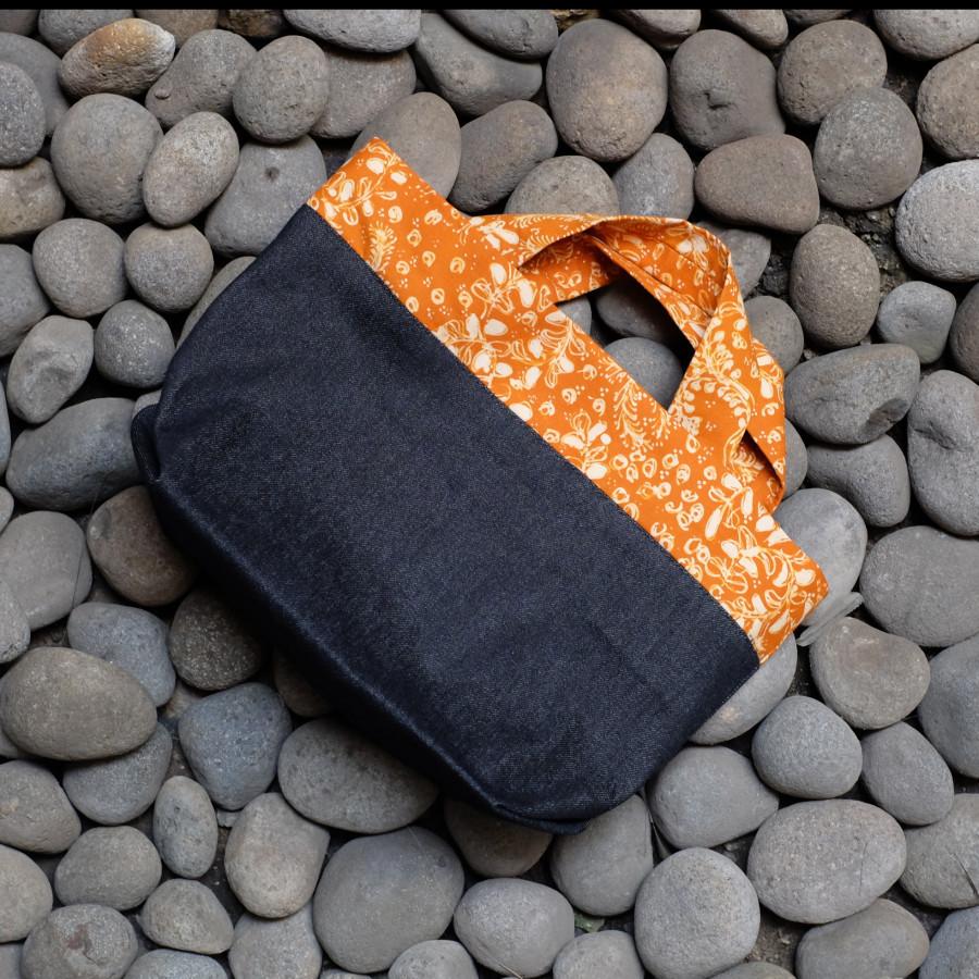 Batik Lasem Handbag - Kuning