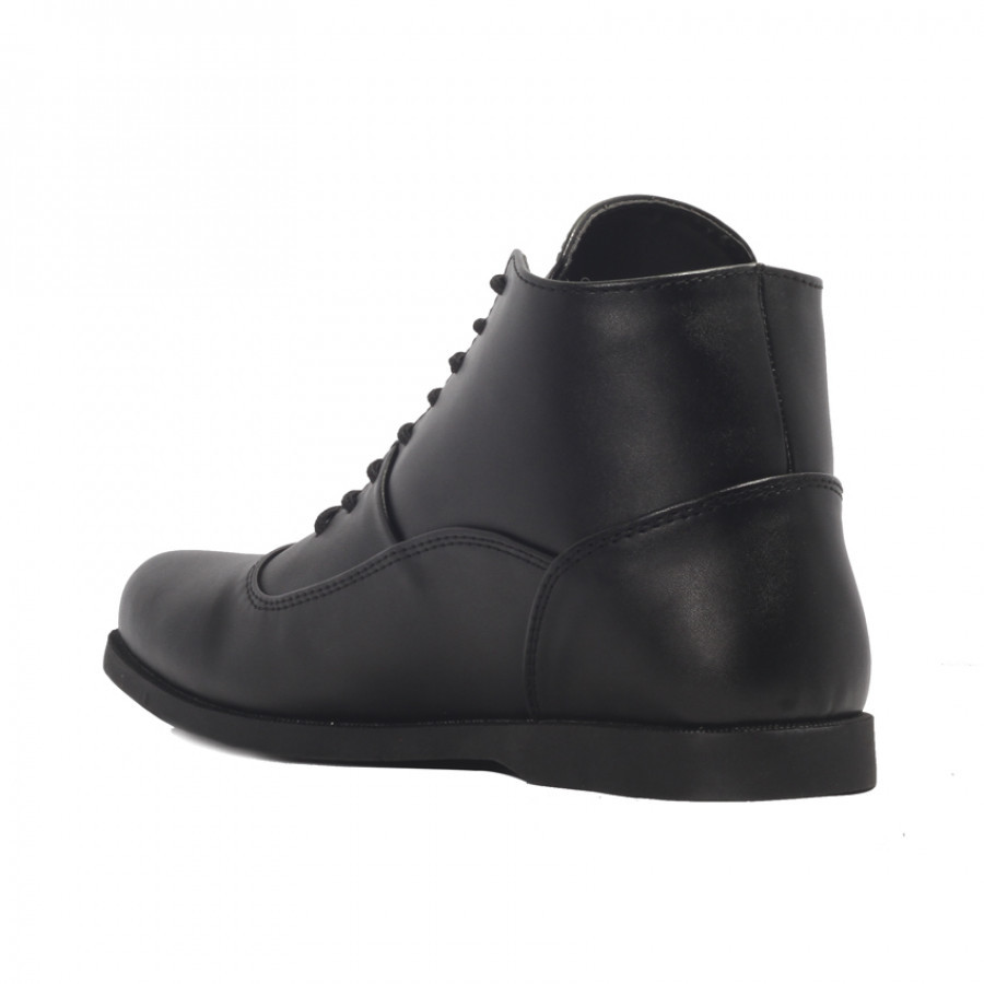 Alton Black | Zensa Footwear Sepatu Boots Pria