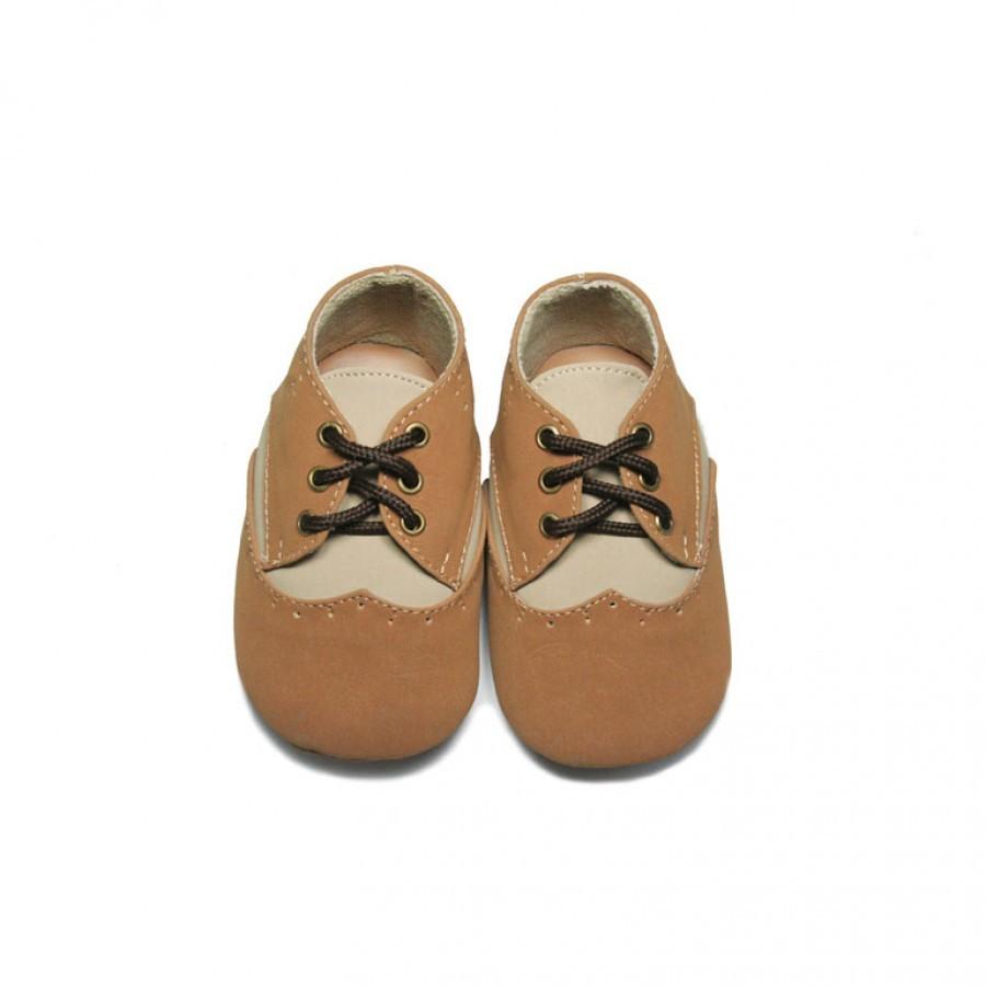 Tamagoo Sepatu Bayi Laki Baby Shoes Prewalker Tommy Tan Marc Black Boots Vito Brown Murah
