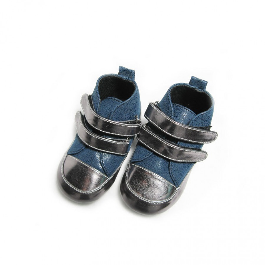Sepatu Bayi Laki Tamagoo Matthew Navy Baby Shoes Prewalker Marc Black Murah