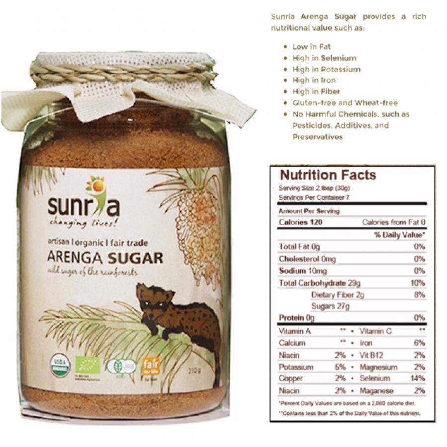 Sunria Arenga Sugar / Gula 300gr