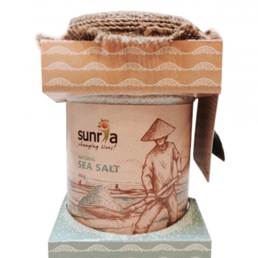 Sunria Natural Sea Salt 500gr (Coarse Grain)