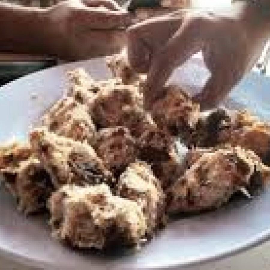 Kue Itak Poul-Poul (khas Mandailing)