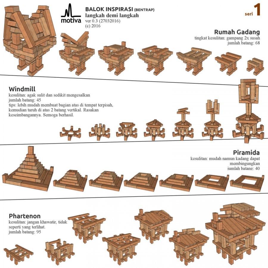 Bentrap - Creative Building Box (60pcs)