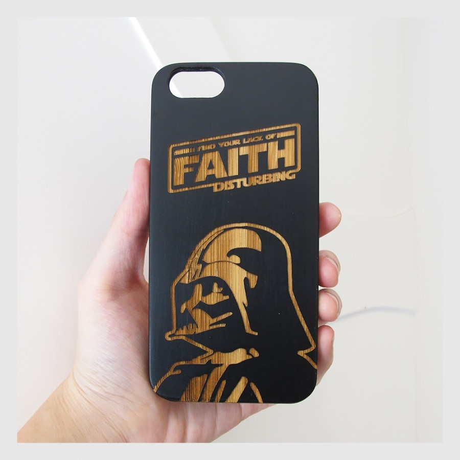 DARTH VADER - Star Wars Edition - iPhone 6 / 6s Wood Case