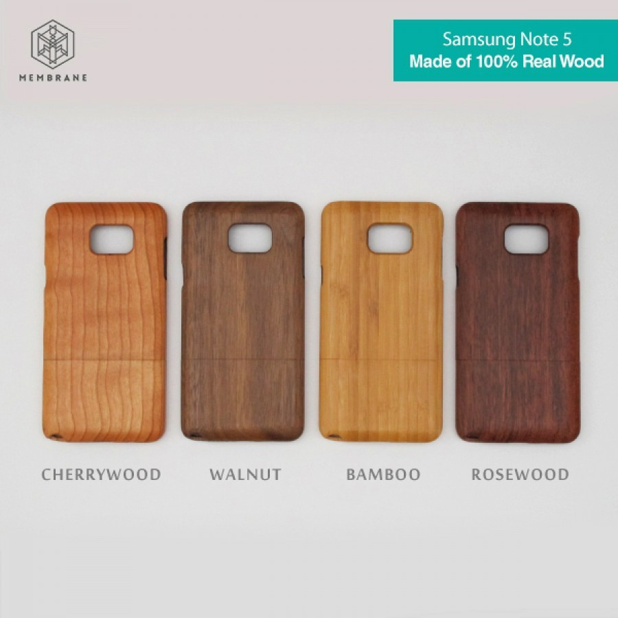 WOODEN CASE / CASING KAYU for Samsung Note 5