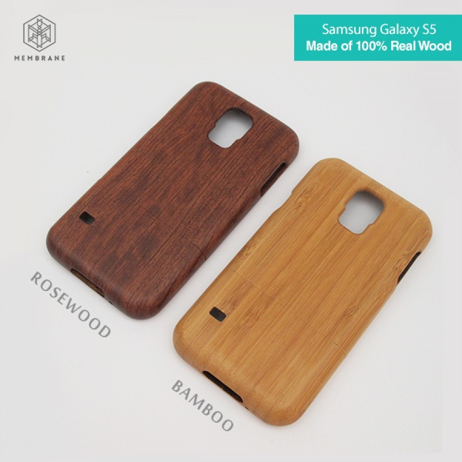 WOOD CASE / CASING KAYU for Samsung Galaxy S5