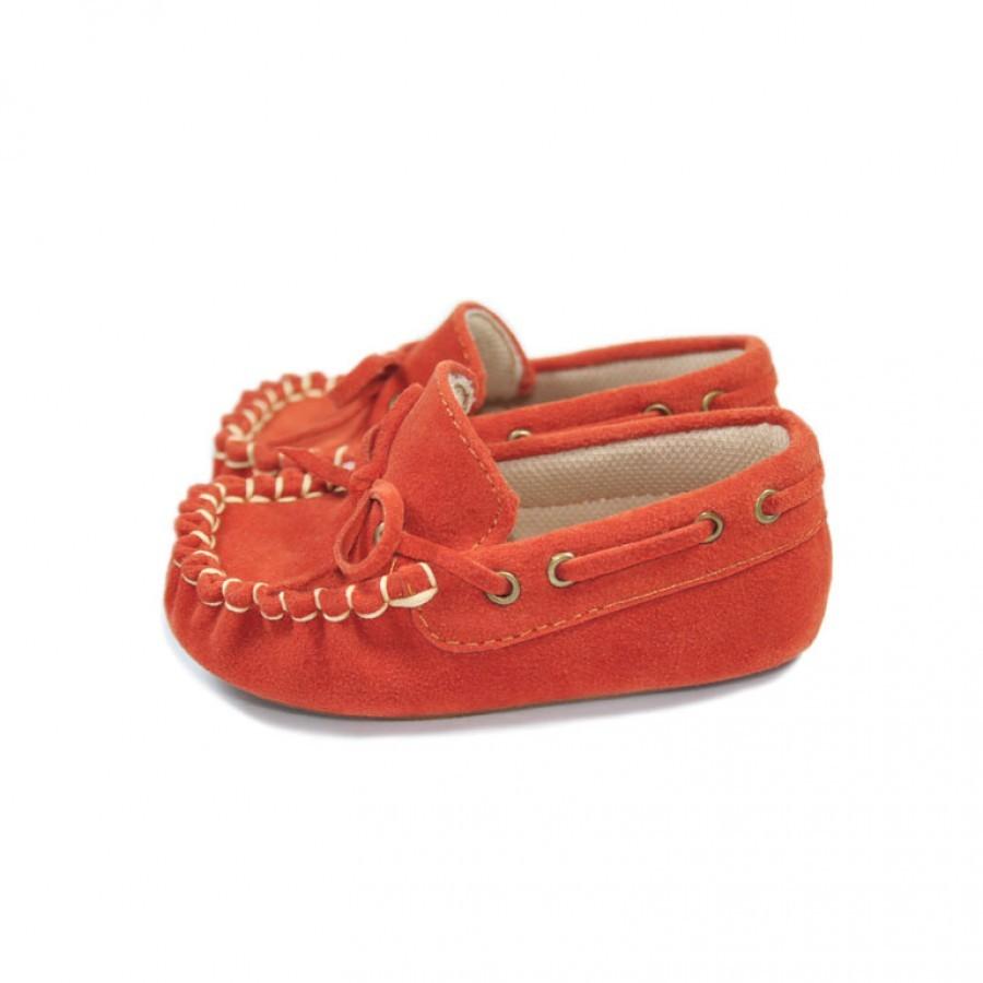 ... Sepatu Bayi Laki-laki Tamagoo-Marc Orange Baby Shoes Prewalker Murah ... ed32c2474b