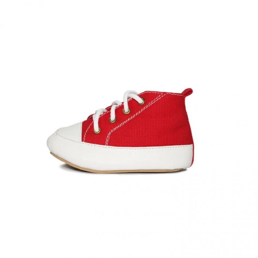 Sepatu Bayi Laki-laki Tamagoo-Mike Red Baby Shoes Prewalker Murah