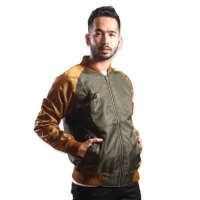 twickenham-jaket-bomber-gaudencio-hijau-army-gold