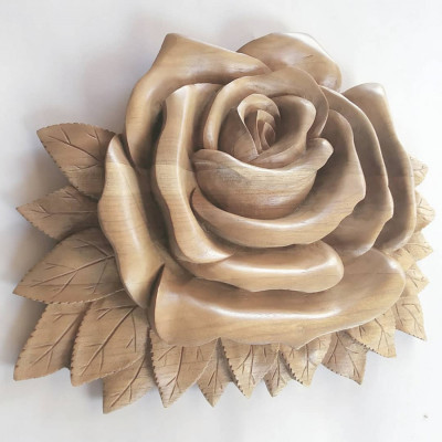 hiasan-dinding-cantik-motif-bunga-mawar