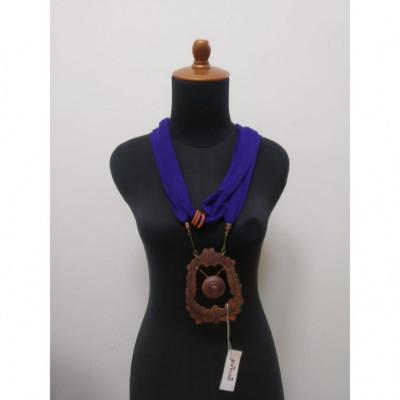 kalung-batik-kalung-handmade-kalung-unik-kalung-gamelan-kalung-gong-gesyal-ungu