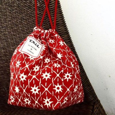 pouch-serut-batik-bintang-marun