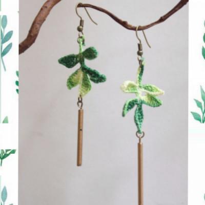 leaves-earrings