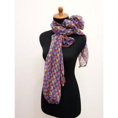 gesyal-syal-travelling-wanita-sifon-motif-segitiga-scarf-violet-tosca