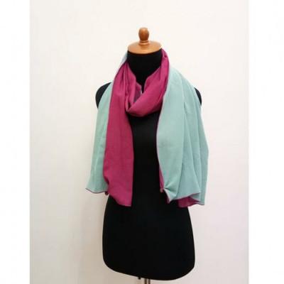 gesyal-travelling-reversible-scarf-wanita-tosca-fuschia