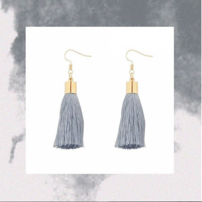 grey-tassel-earings