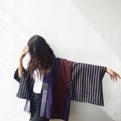 atasan-kimono-lurik