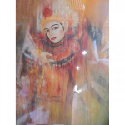 lukisan-tradisional-motif-topeng-bali-100092
