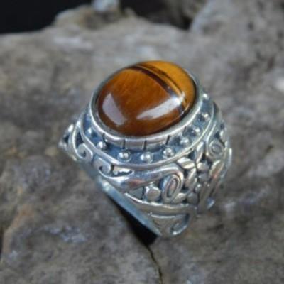 cincin-perak-motif-ukiran-bali-batu-tiger-eye-100130