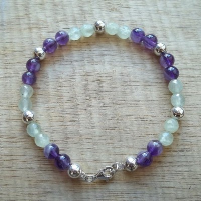 prehnite-amethyst-bracelet-bb-0333