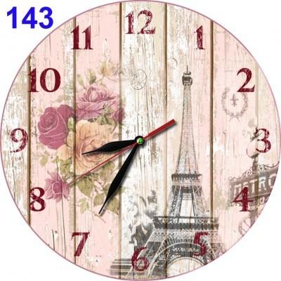 -143-jam-dinding-retro-shabby-chic-bunga-mawar-menara-eiffel-paris