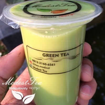 thailand-green-tea-160-ml-cup-minumum-order-12-pcs