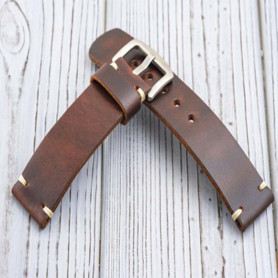 tali-jam-tangan-kulit-asli-18mm.-20mm.-21mm.-22mm.-24-mm.-26-mm-warna-coklat-tua-garansi-1-tahun