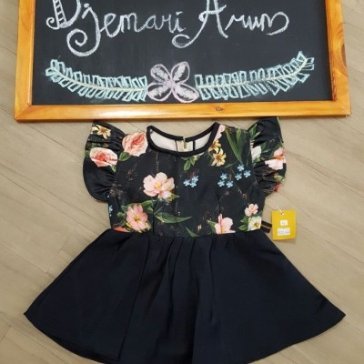 la-rose-dress-black