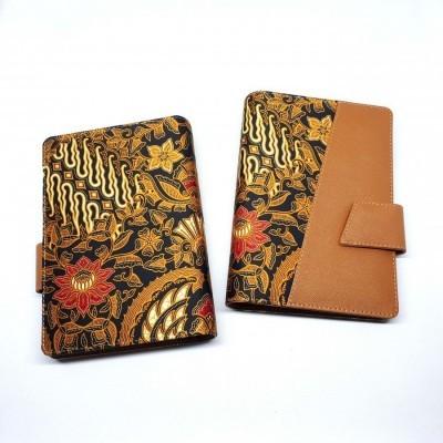 agenda-batik-b6-souvenir-brown-diego